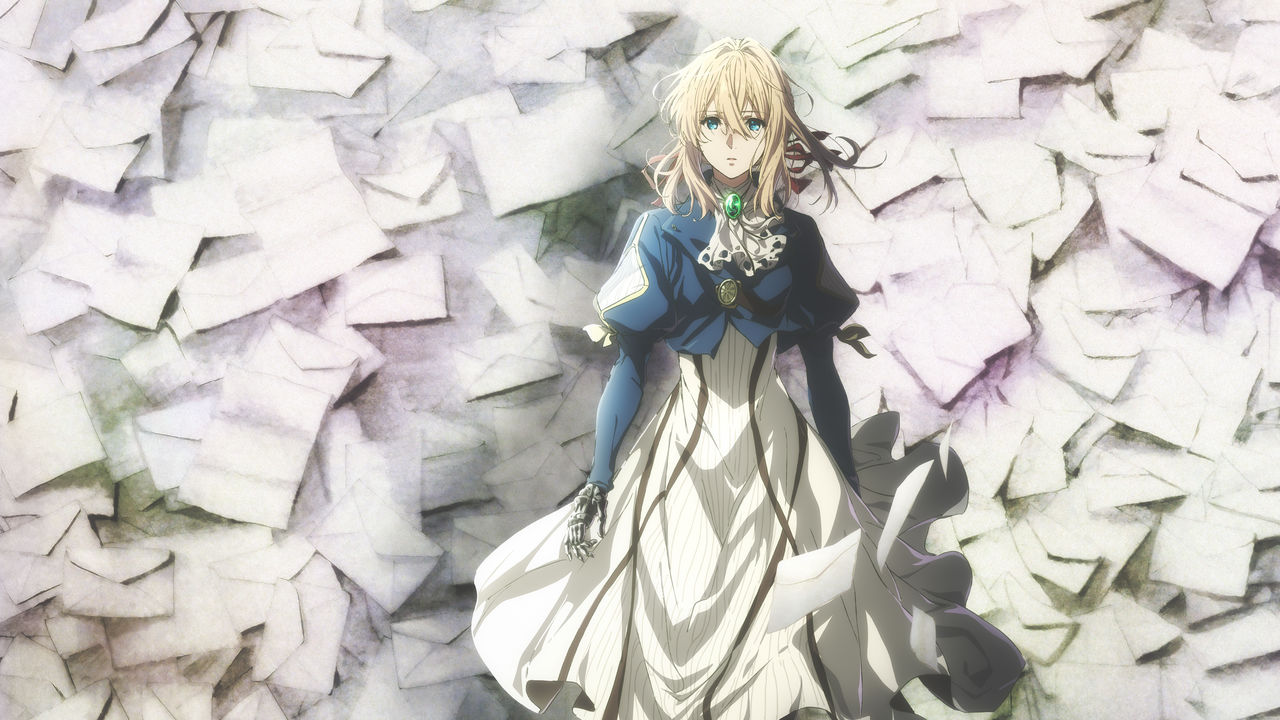 Violet evergarden netflix official site