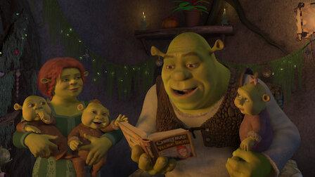 Shrek Christmas.Dreamworks Shrek Stories Netflix