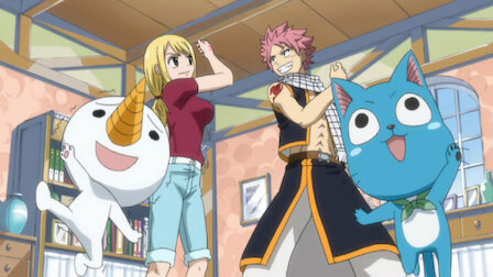 Fairy tail streaming anime