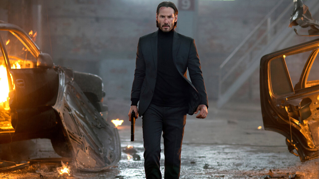 John Wick avenging his dog and car is one of the most satisfying endings.