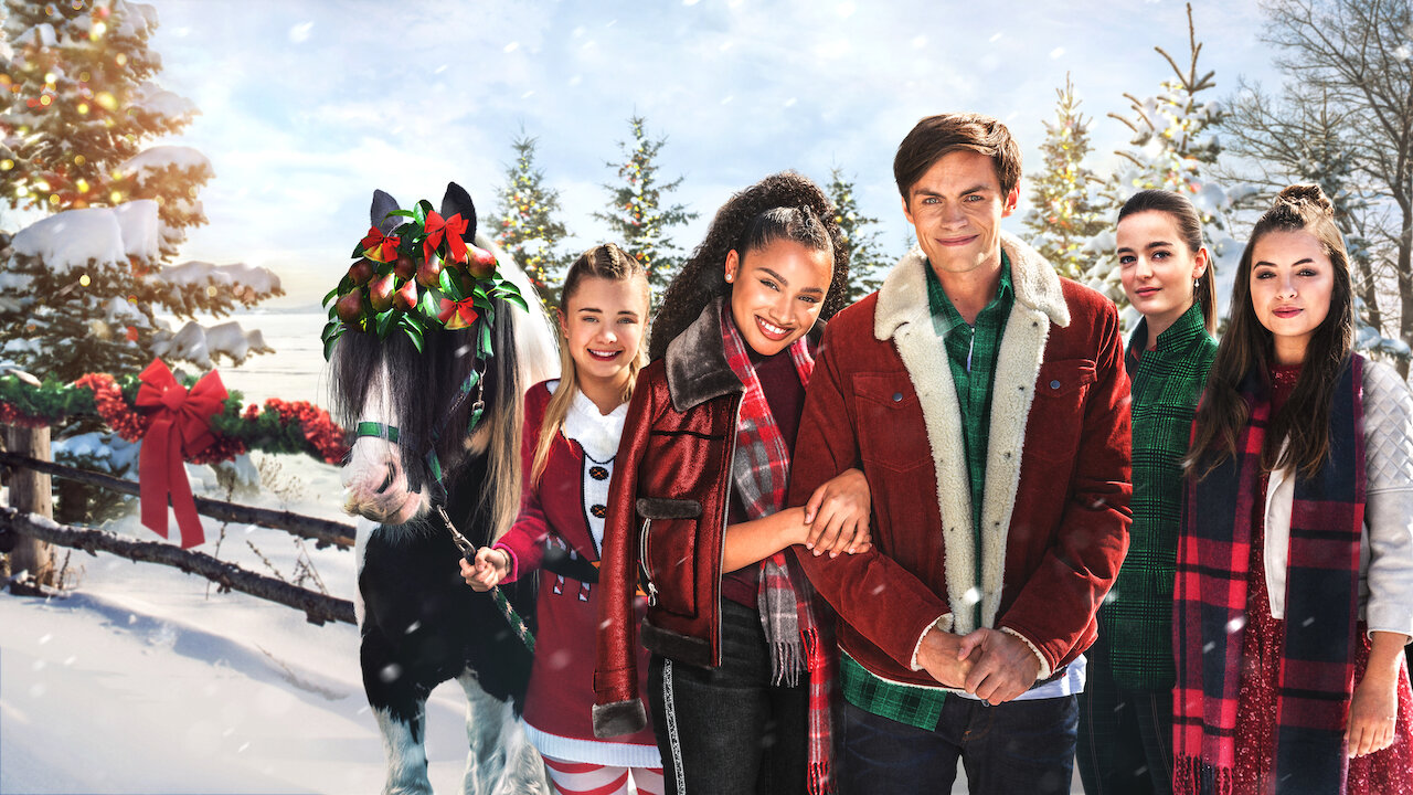 12 Gifts Of Christmas Cast.Free Rein The Twelve Neighs Of Christmas Netflix Official