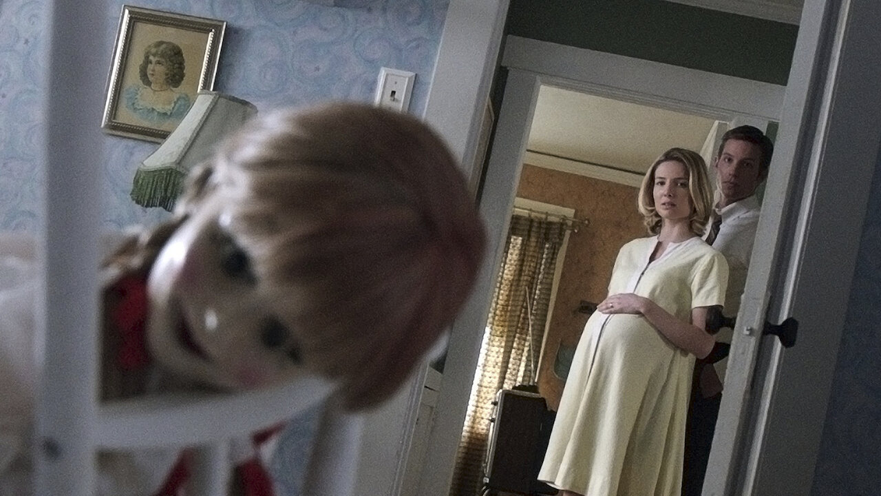 Rich results on Google's SERP when searching for 'Annabelle movie'